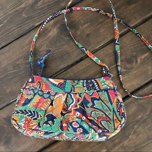 Vera Bradley Mini Paisley Cross Body Shoulder Bag